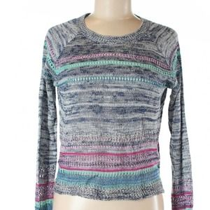 2/$20 Love on a Hanger Marled Knit Boho Sweater
